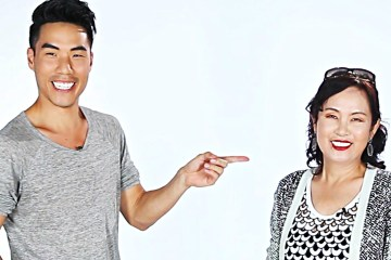 Asian-Moms-And-Their-Kids-Imitate-Each-Other