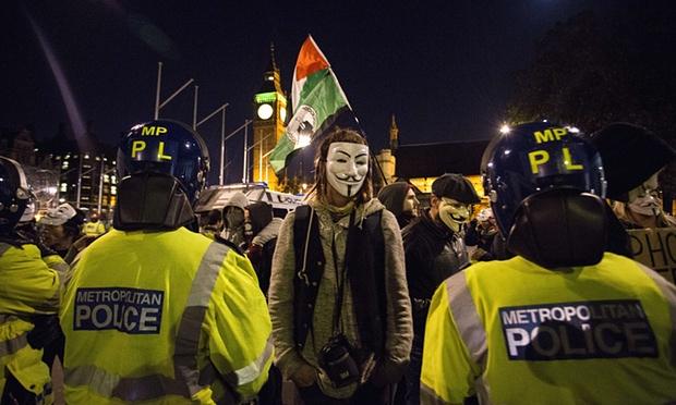 Million Mask Protest