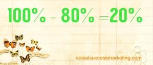 social_media_explained_80_20_rule