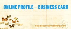 Social Media Explained   Social Media Profile - Your Online Business Card