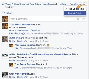 recent posts | facebook