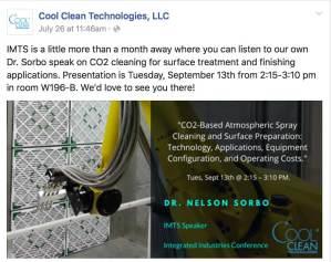 manufacturing sample social media post