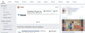 manufacturing facebook graph search