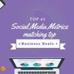 Top 65 social media metrics matching top business goals