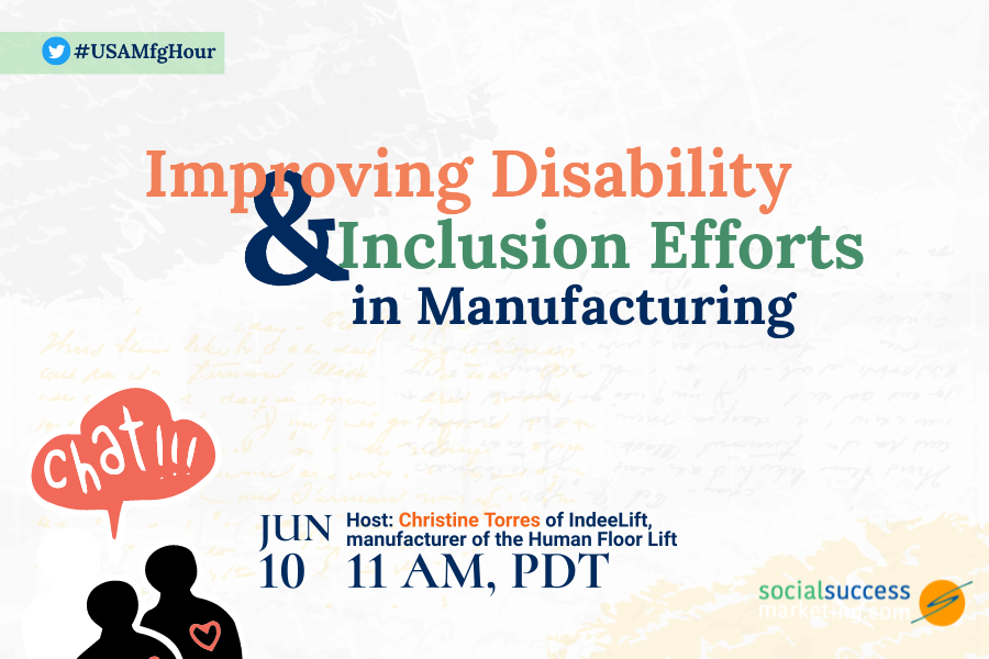 disability inclusion manufacturing chat