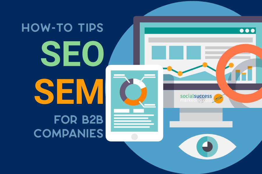 how to tips seo sem b2b