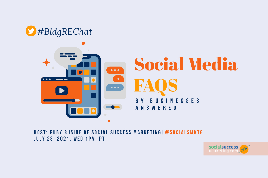 social media faqs by businesses answered