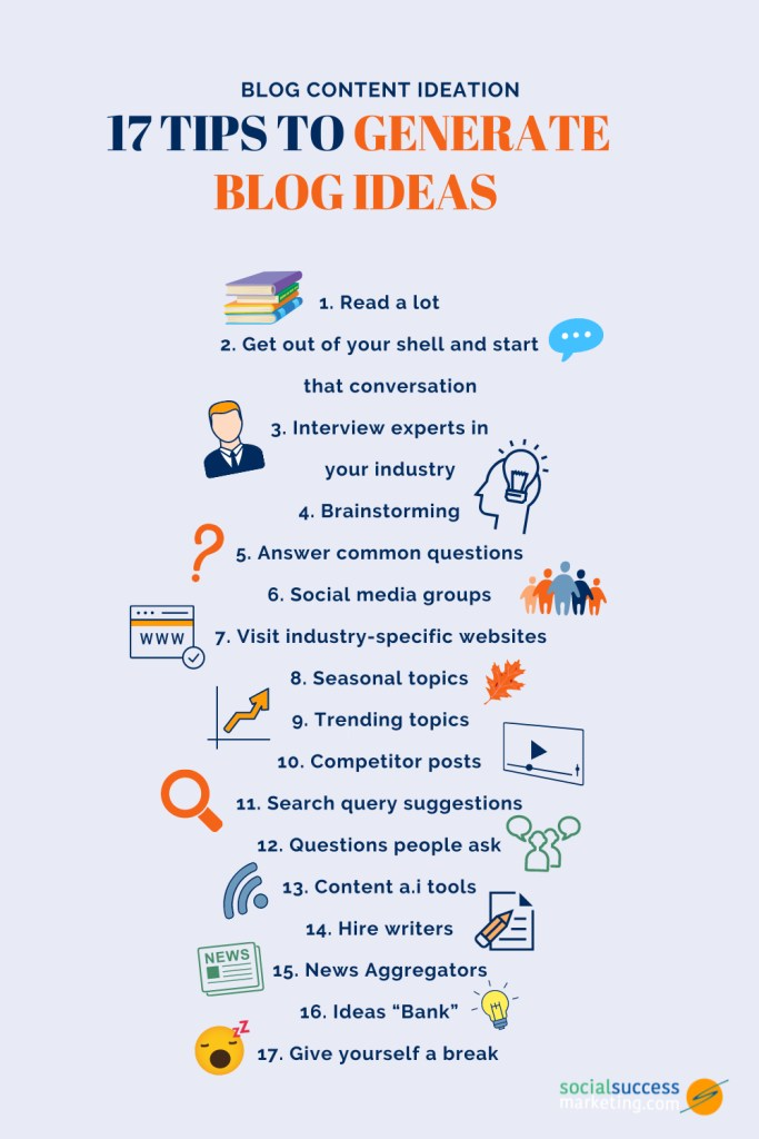 blog content ideation tips