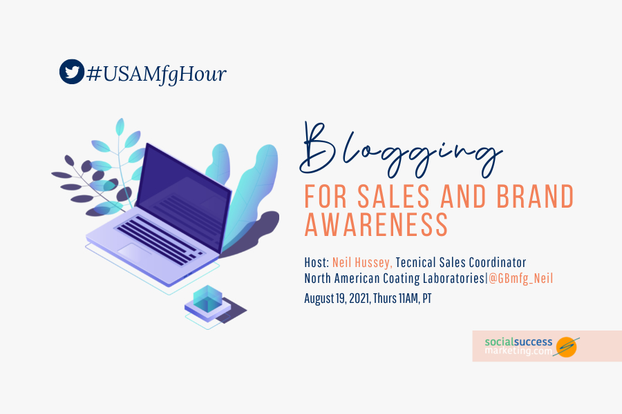 blogging for sales and brand awareness
