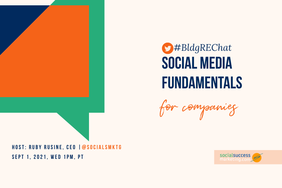 social media fundamentals twitter chat