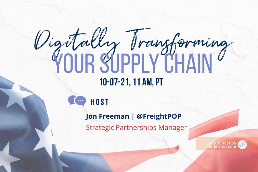 digitally transforming supply chain