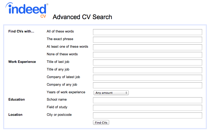 How To Find Free Cvs On Indeed Com And Contact Them For