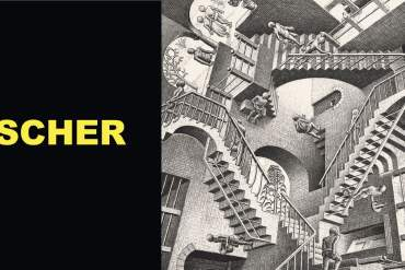 Escher al PAN di Napoli