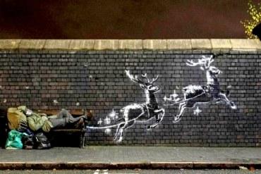 Banksy Natale