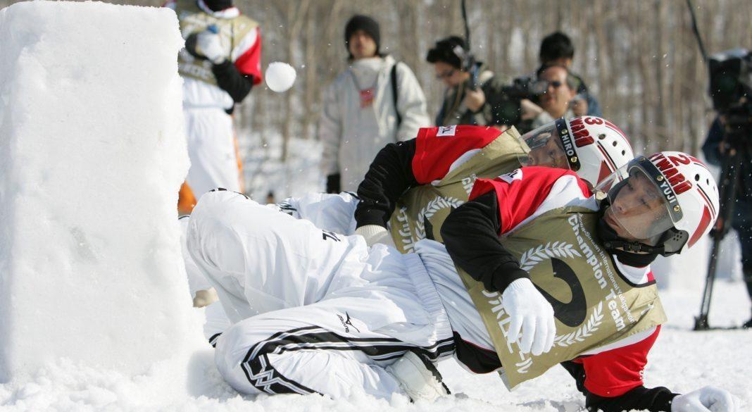 Yukigassen: uno degli sport più assurdi del mondo