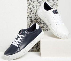 Sneakers Tommy Hilfiger in pellemela