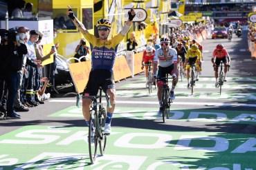 Roglic, maglia gialla del Tour de France 2020