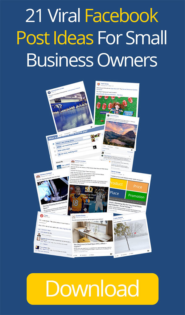 21 Viral Facebook Post Ideas For Small Business Owners