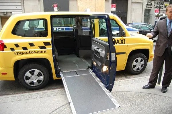 Wheelchair Accessible Taxi 1