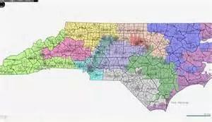 NC Gerrymander Map