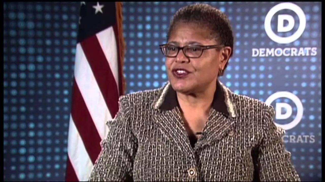 """Congresswoman Karen Bass Leads Passage of """"Put Trafficking Victims First Act"""