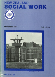 Cover of NZ Social Work 1977