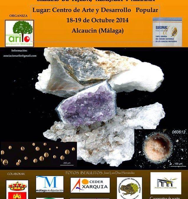 V Jornada geológicas y de la geodiversidad. Alcaucín, 18 y 19 de octubre.