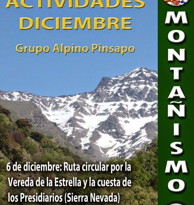 Actividades montaña diciembre 2014