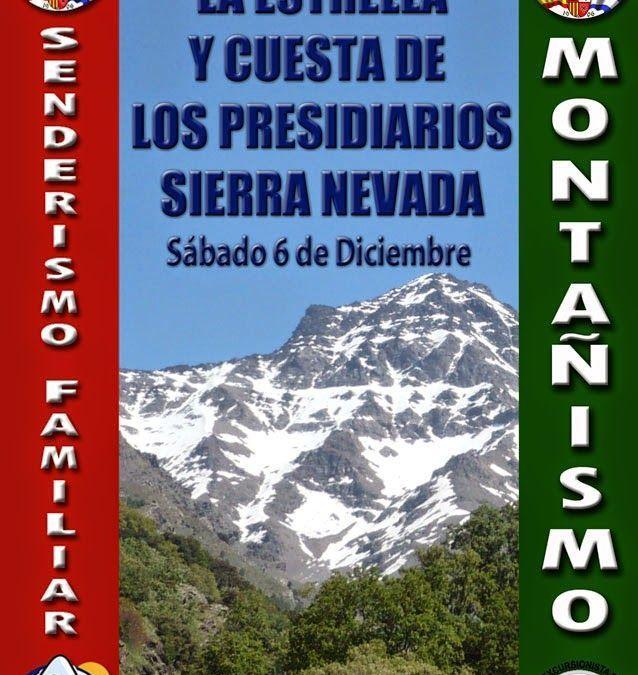 Vereda de la Estrella y Cuesta de los Presidiarios, 6 de diciembre.