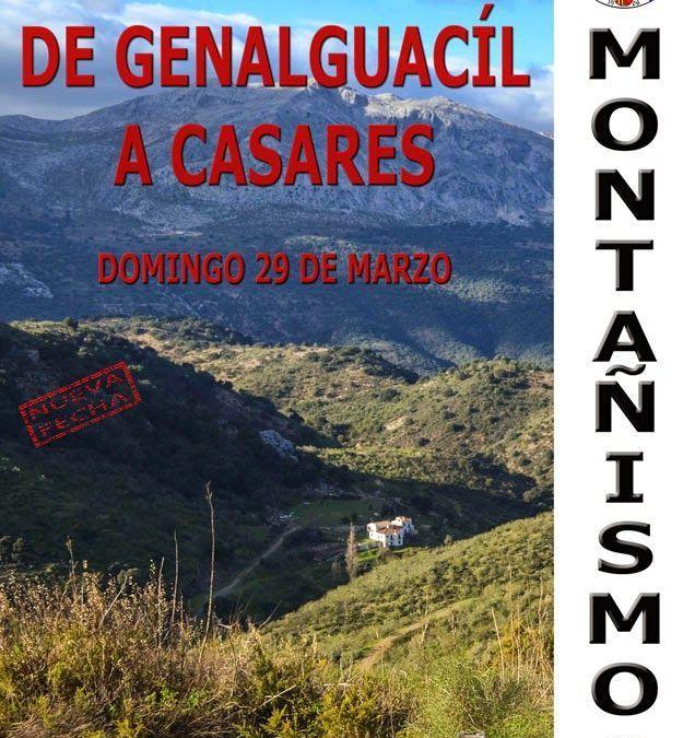 De Genalguacíl a Casares, 29 de Marzo