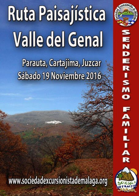 Ruta Paisajística Valle del Genal: Parauta, Cartajima, Júzcar. Sábado 19 noviembre 2016