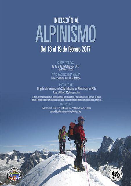 Curso Iniciación al Alpinismo, Febrero 2017
