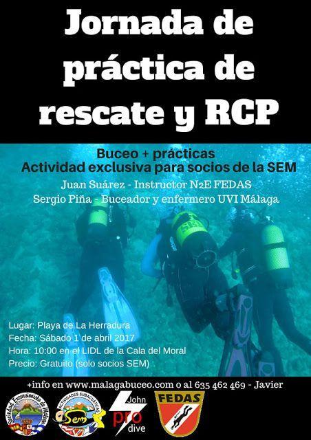 Jornadas de práctica de rescate y RCP, 1 de abril