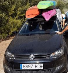 Salida de la Sección de Piragüa – Río Genil