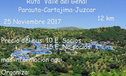 Ruta Valle del Genal-Parauta-Cartajima-Júzcar