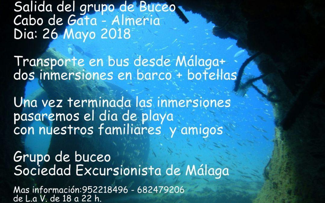 Buceo en Cabo de Gata – Almería