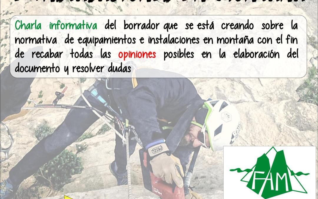 Normativa de equipamientos e instalaciones en montaña