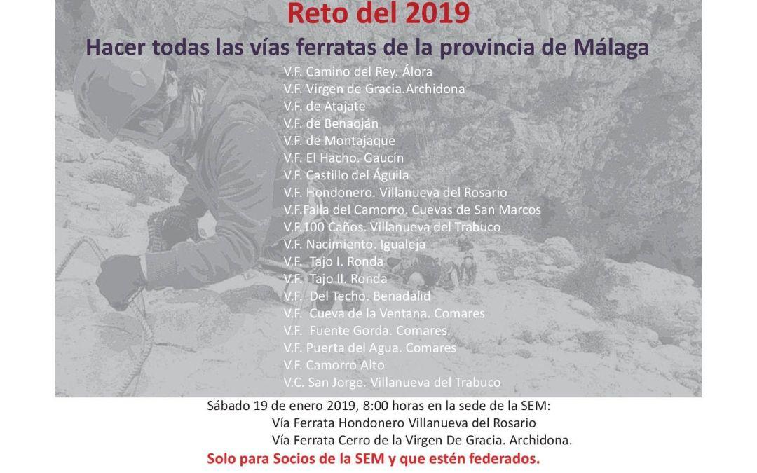 [Reto 2019] Hacer todas las ferratas de la provincia de Málaga