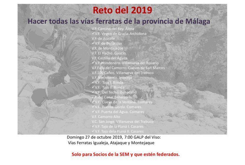 Vías ferratas de Igualeja, Atajate y Montejaque 27 octubre