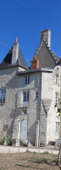 Le château de Châtellerault