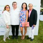 Marion Waxman, Chef David Burke, ?, Dr. Samuel Waxman