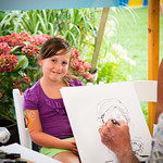 Caricature Drawing Station
