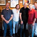 Shane Dyckman, Adam Rosante, John Varvatos, Ray Rogers, Frank Trentacoste