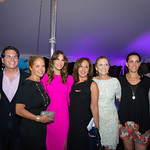 Fern Mallis, Dr. Howard Sobel, Katie Couric, Gayle Sobel, Rosanna Scotto, Julie Ratner, Rose Franco, John Franco
