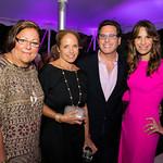 Fern Mallis, Katie Couric, Dr. Howard Sobel, Gayle Sobel