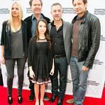 Hope Davis, Timothy Hutton, Olivia Steele Falconer, Anthony Fabian, David Duchovny