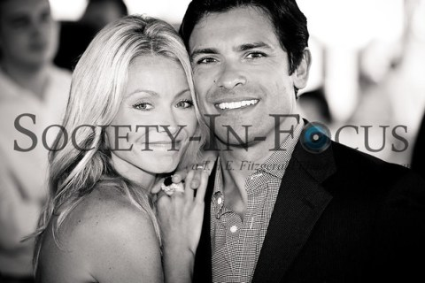 Kelly Ripa and Mark Consuelos at the Hampton Classic