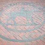 Hampton Classic Logo in Brick
