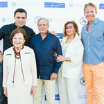 Chef Todd English, Ruth Finley, Dr. Samuel Waxman, Marion Waxman, Chris Wragge