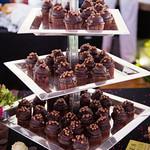 CurlyCakes Chocolate Ganache Cupcakes
